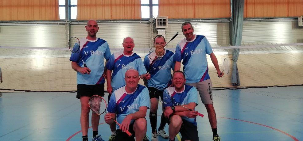 Equipe interclubs Vétérans 2018/2019.